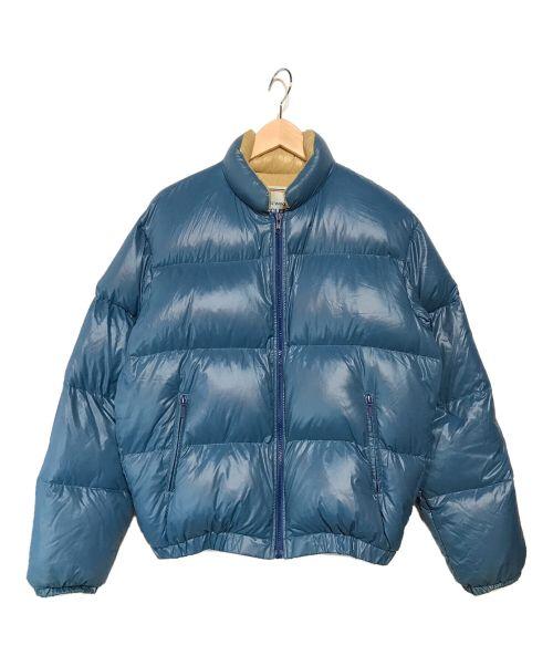 MONCLER(モンクレール)MONCLER (モンクレール) ダウンジャケット ブルー サイズ:サイズ表記無しの古着・服飾アイテム