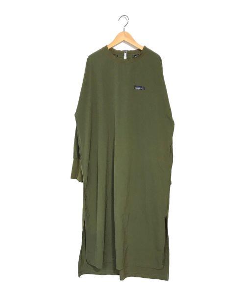 Thousand Mile(サウザンドマイル)Thousand Mile (サウザンドマイル) カットソーワンピース グリーン サイズ:FREEの古着・服飾アイテム