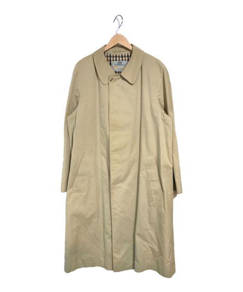 Aquascutum(アクアスキュータム)Aquascutum (アクアスキュータム) ステンカラーコート ベージュ サイズ:サイズ表記なしの古着・服飾アイテム