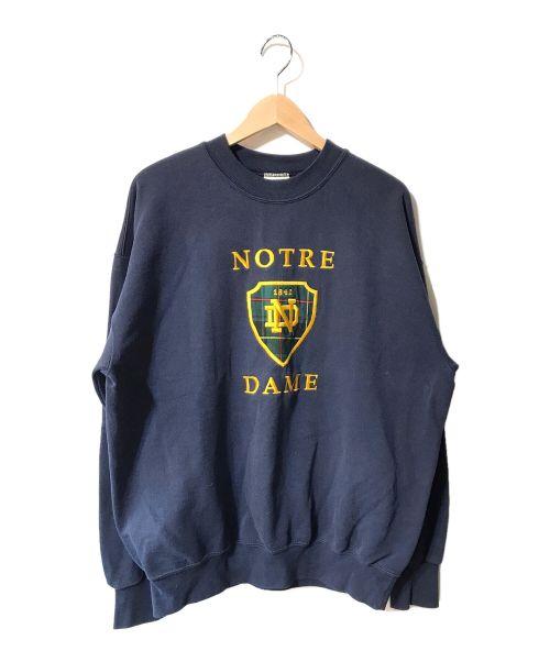 NUTMEG(ナツメグ)NUTMEG (ナツメグ) 【OLD】クルーネックスウェット ネイビー サイズ:Lの古着・服飾アイテム