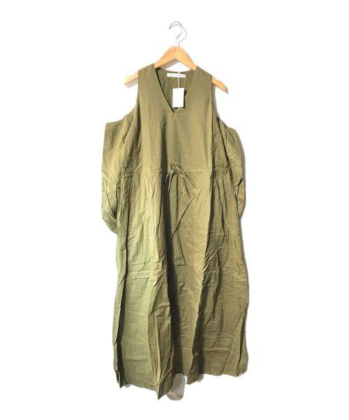 MARIHA(マリハ)MARIHA (マリハ) 春の光のドレスBS グリーン サイズ:36の古着・服飾アイテム