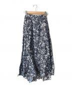 MARIHA()の古着「海辺のスカート」 ネイビー