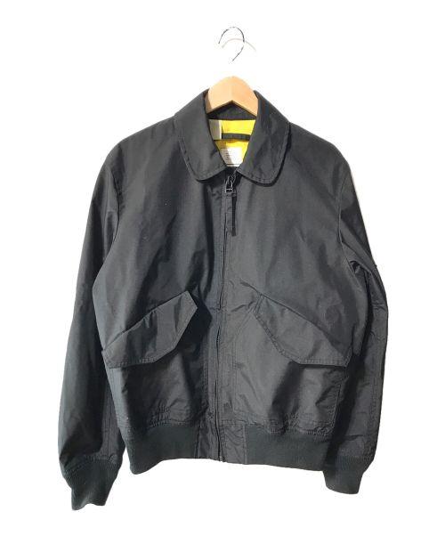 N.HOOLYWOOD(エヌ ハリウッド)N.HOOLYWOOD (エヌ ハリウッド) フライトジャケット ブラック サイズ:Mの古着・服飾アイテム