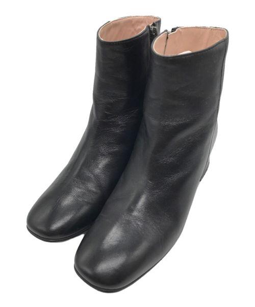 CORSO ROMA 9(コルソローマノーヴェ)CORSO ROMA 9 (コルソローマノーヴェ) サイドジップブーティ ブラック サイズ:36の古着・服飾アイテム