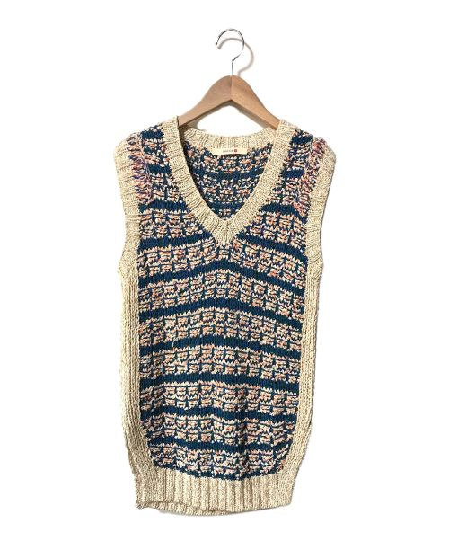 BACCA(バッカ)BACCA (バッカ) ニットベスト ネイビー サイズ:1の古着・服飾アイテム