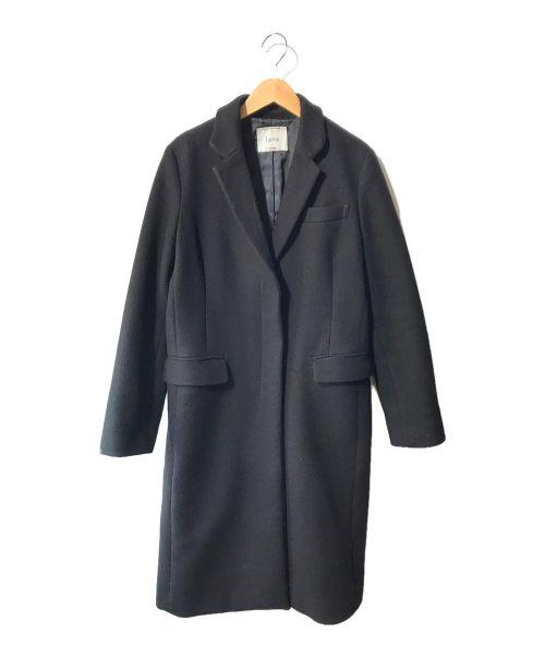 JOURNAL STANDARD(ジャーナルスタンダード)JOURNAL STANDARD (ジャーナルスタンダード) LANA比翼コート ブラック サイズ:40の古着・服飾アイテム
