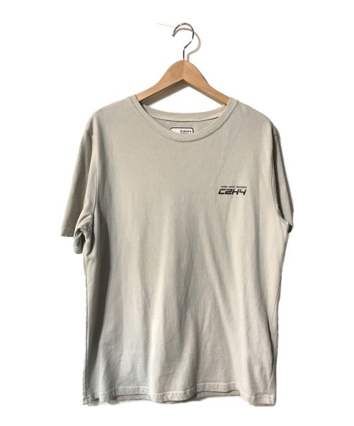C2H4(シーツーエイチフォー)C2H4 (シーツーエイチフォー) Instruction Print T-Shirt グレー サイズ:Mの古着・服飾アイテム