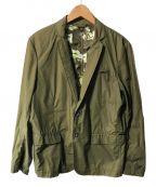 DIESEL()の古着「テーラードジャケット」|オリーブ