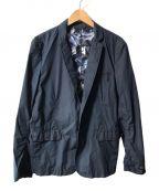 DIESEL()の古着「テーラードジャケット」|ネイビー