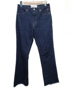 JANE SMITH(ジェーンスミス)の古着「ブーツカットデニムパンツ」|インディゴ