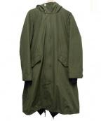 COLLAGE GALLARDAGALANTE(コラージュ ガリャルダガランテ)の古着「ライナー付モッズコート」|カーキ
