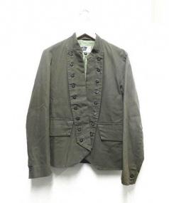 Engineered Garments(エンジニアードガーメンツ)の古着「ナポレオンミリタリージャケット」|カーキ