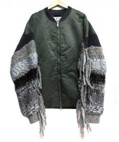 DISCOVERED(ディスカバード)の古着「BIG MA-1 BLOUSON」|カーキ