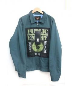 supreme×undercover(シュプリーム×アンダーカバー)の古着「PUBLIC ENEMY/Work Jacket」|グリーン