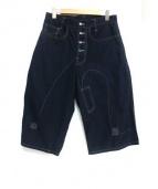 nemeth(ネメス)の古着「半端丈デザインパンツ」|ブラック
