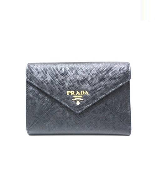 half off 33f56 82c5e [中古]PRADA(プラダ)のレディース 服飾小物 3つ折り財布