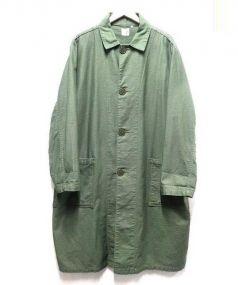 orSlow(オアスロウ)の古着「ロングステンカラーコート」|カーキ