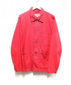 Engineered Garments(エンジニアードガーメンツ)の古着「ミリタリーカバーオール」|レッド