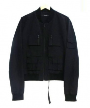 DRESSEDUNDRESSED(ドレスドアンドレスド)の古着「ミリタリージャケット」|ブラック