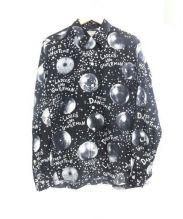 WACKO MARIA(ワコマリア)の古着「MIRROR BALLL/S HAWAIIAN SHIRTS」|ブラック×ホワイト