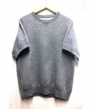 sacai(サカイ)の古着「半袖スウェット」|ライトグレー