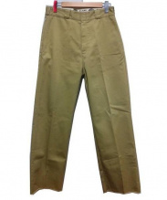 CLANE×Dickies(クラネ×ディッキーズ)の古着「STRAGHT PANTS」|ベージュ