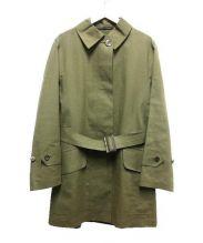MACKINTOSH(マッキントッシュ)の古着「ステンカラーコート」|オリーブ