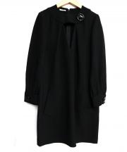 MIU MIU(ミュウミュウ)の古着「ワンピース」|ブラック