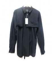 COMME des GARCONS HOMME PLUS(コムデギャルソンオムプリュス)の古着「シャツ」|ブラック