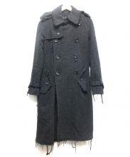 JUNYA WATANABE CDG(ジュンヤワタナベ・コムデギャルソン)の古着「カットオフウールトレンチコート」 グレー