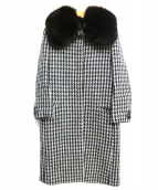 DRAWER(ドゥロワー)の古着「ファー付コート」