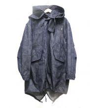 ANREALAGE(アンリアレイジ)の古着「ライナー付デニムコート」