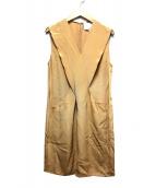 3.1 phillip lim(フィリップリム)の古着「ノースリーブワンピース」|ベージュ