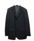 COMME des GARCONS HOMME PLUS(コムデギャルソンオムプリュス)の古着「切替テーラードジャケット」 ブラック