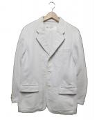 COMME des GARCONS HOMME(コムデギャルソンオム)の古着「ジャケット」 ホワイト
