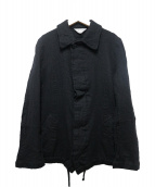 robe de chambre COMME des GARCONS(ローブドシャンブル コムデギャルソン)の古着「ウールジャケット」 ブラック