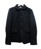 BLACK COMME des GARCONS(ブラックコムデギャルソン)の古着「キルティングジャケット」|ブラック