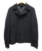 BLACK COMME des GARCONS(ブラックコムデギャルソン)の古着「ダブルテーラードジャケット」 ブラック