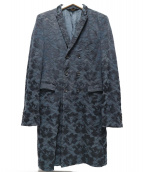 COMME des GARCONS HOMME PLUS(コムデギャルソンオムプリュス)の古着「デジカモフリルジャケット」 ブラック