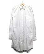 BLACK COMME des GARCONS(ブラックコムデギャルソン)の古着「ロングシャツ」|ホワイト