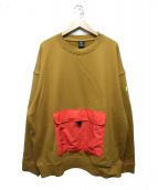 NIKE(ナイキ)の古着「クエストフリースロングスリーブクルーネックスウェット」|WHEAT