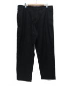 Yohji Yamamoto BLACK SCANDAL(ヨウジヤマモト ブラックスキャンダル)の古着「ヒモパンシーチングパンツ」 ブラック