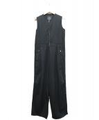 Y's(ワイズ)の古着「リネン混ツナギ」|ブラック