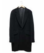 COMME des GARCONS HommePlus(コムデギャルソンオムプリュス)の古着「チェスターコート」|ブラック
