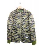 BEDWIN &THE HEARTBREAKERS(ベドウィン アンド ザ ハートブレイカーズ)の古着「キルティングジャケット ジョイ」|カーキ
