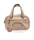 LOEWE(ロエベ)の古着「ハンドバッグ」|ピンク