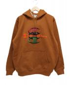 Supreme(シュプリーム)の古着「スタックド シー フーデッドスウェットシャツ」|ブラウン