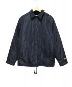 Supreme × Champion(シュプリーム × チャンピオン)の古着「ラベルコーチジャケット」|ブラック
