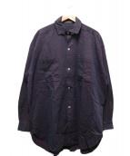 YS for men(ワイズフォーメン)の古着「オーバーシャツ」|パープル