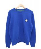 KENZO(ケンゾー)の古着「クルーネックニット」 ブルー